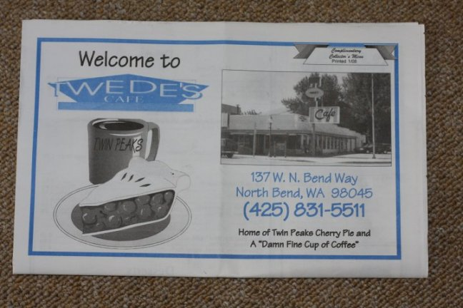 Twede's Cafe, North Bend